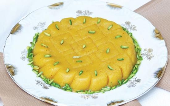طرز تهیه حلوای آرد برنج