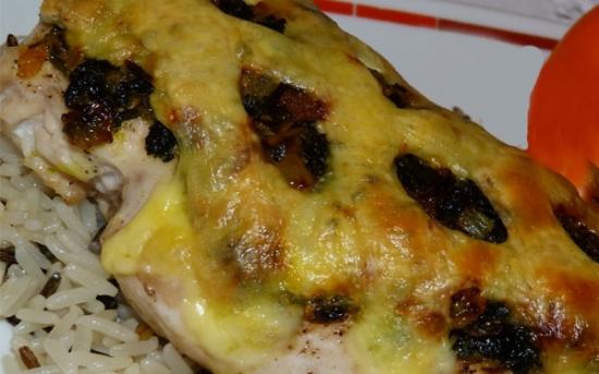 طرز تهیه سینه مرغ با سیر