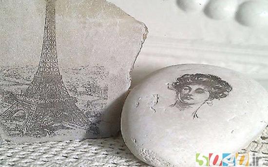چاپ عکس روی سنگ