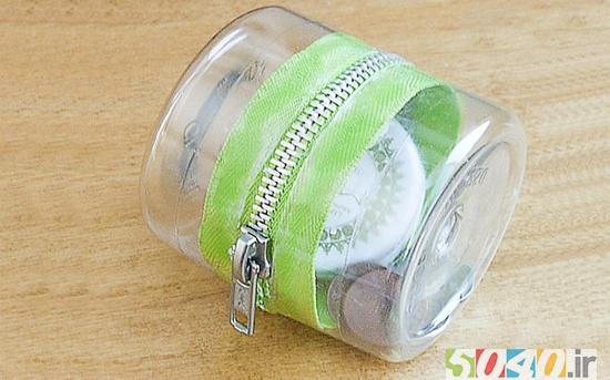 ساختن محفظه با بطری پلاستیکی