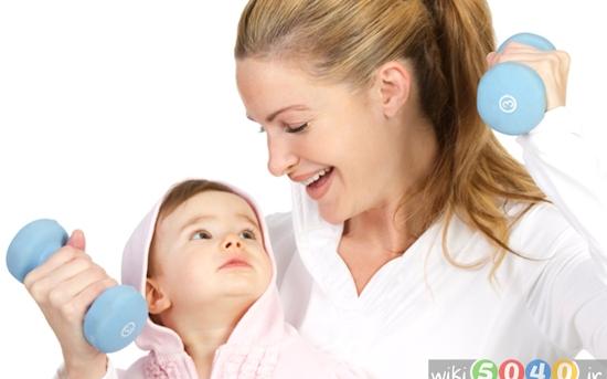 کاهش وزن پس از بارداری
