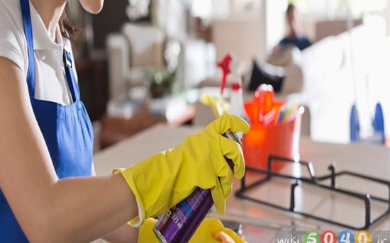 نظافت آشپزخانه در 15 دقیقه