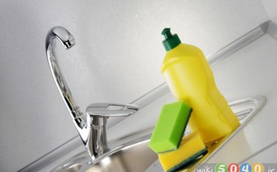 روش تمیز کردن ظرفشویی آشپزخانه