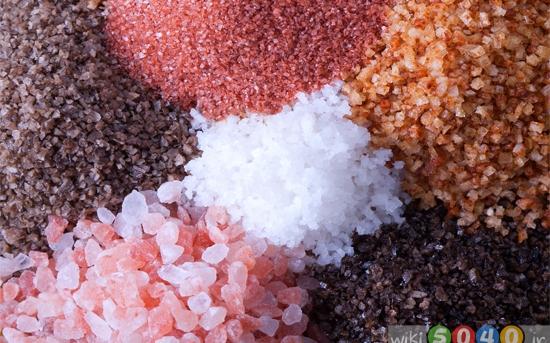 انواع نمک خوراکی و تأثیر آن بر سلامتی