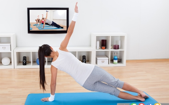 30 دقیقه ورزش در خانه