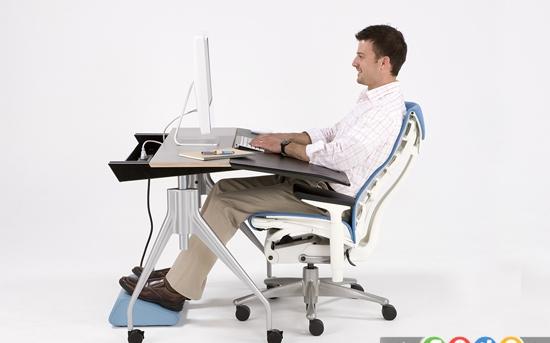 تمرین های ورزشی یوگا در زمان کار با کامپیوتر
