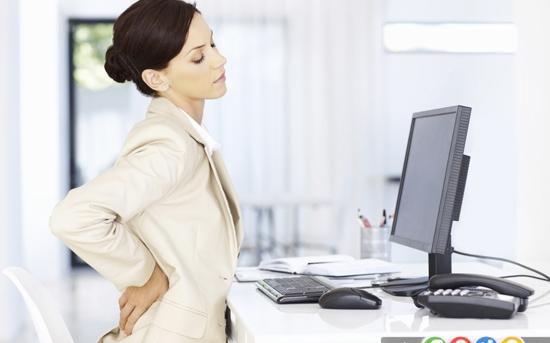 ورزش های شکمی در محل کار