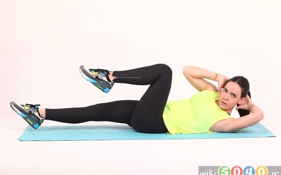 پیلاتس برای تقویت عضلات میانی بدن