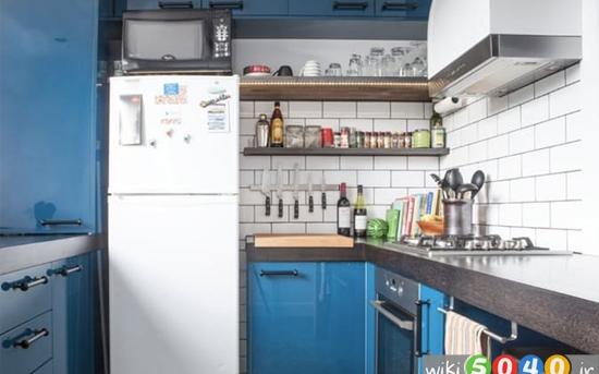 راه های ساده برای بزرگتر دیده شدن آشپزخانه شما