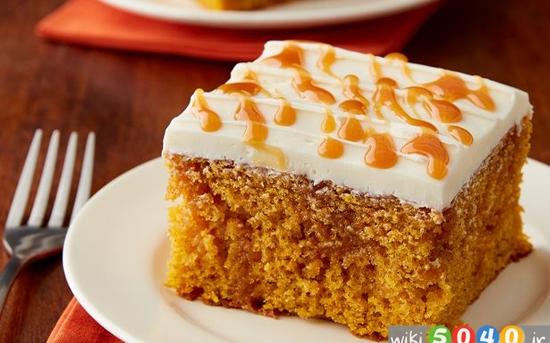 کیک کاراملی کدوتنبل