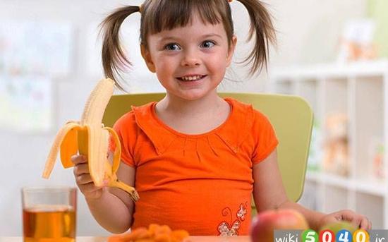 نکات تغذیه ای برای کودکان