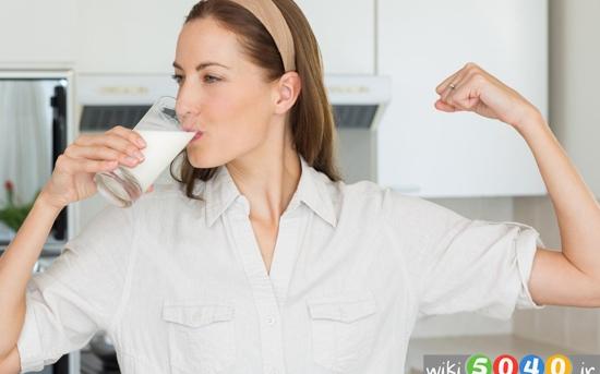 نوشیدن روزانه شیر باعث چه تغییری می شود 3