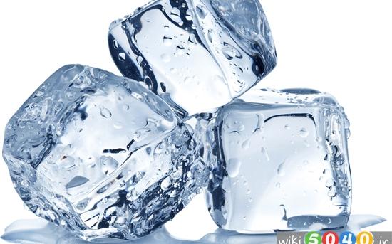 کاربردهای جالب از تکه های یخ