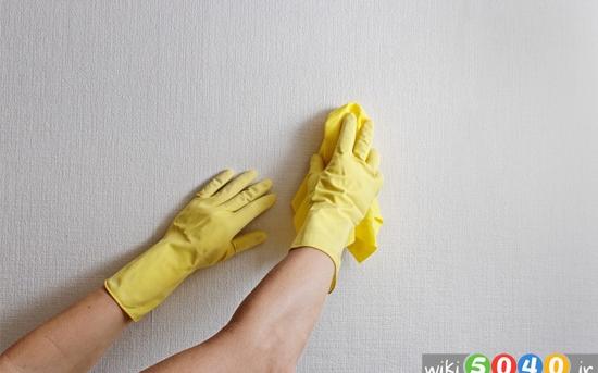 ترفندهایی برای تمیز کردن دیوار
