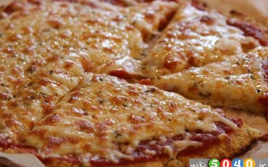 پیتزا سالم خانگی