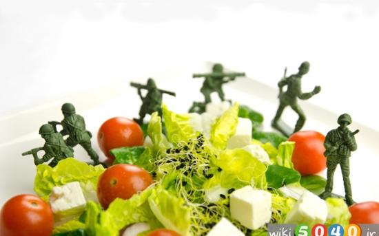 رژیم غذایی جنگجو برای کاهش وزن