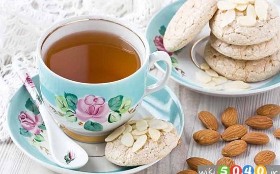 فواید چای بادام