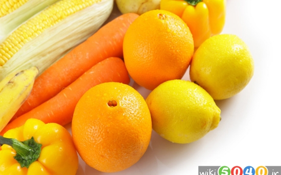 میوه های زردرنگ برای پوست و سلامت