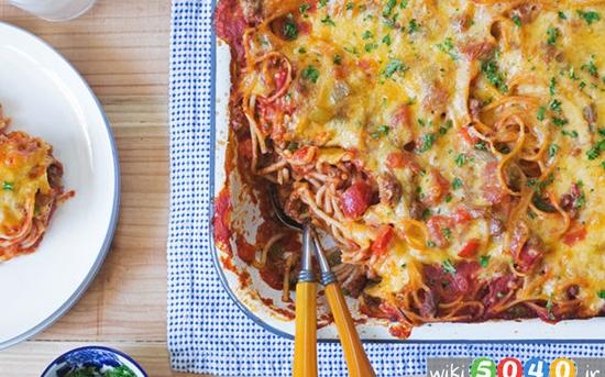 اسپاگتی فلفلی