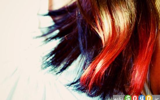 رنگ موی طبیعی خانگی
