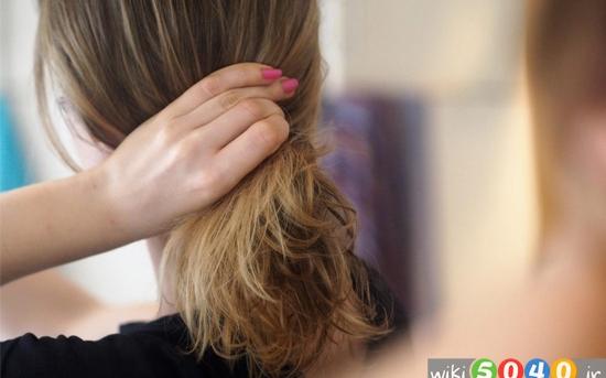 درمان موهای سوخته